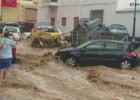 Así se han vivido las inundaciones en Adra