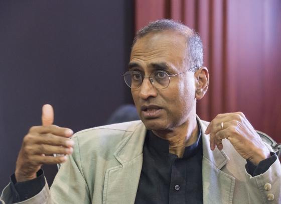 El científico Venkatraman Ramakrishnan, durante la entrevista.