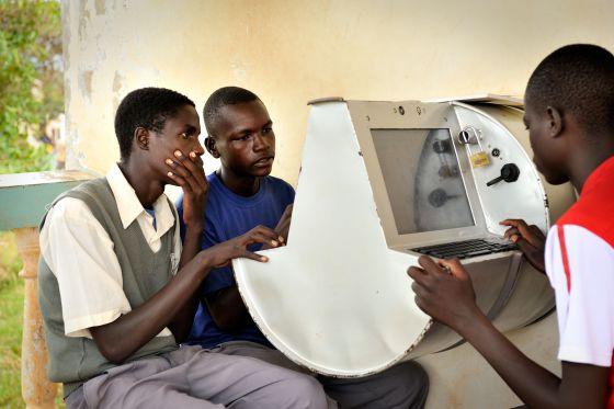 Tambor digital diseñado por Unicef Uganda.