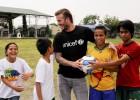 Beckham quiere que la ONU ponga fin a la violencia infantil