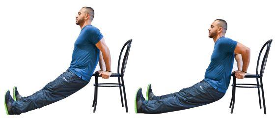 Gratis en casa e infalible siete ejercicios con una silla para muscular icon el pa s - Sillas para la espalda ...