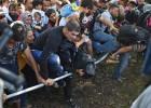 Llegada de refugiados a Croacia