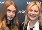 Cara Delevingne y Kate Moss se citan en Milán