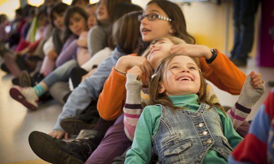 Imagen de portada del informe La infancia en España de Unicef