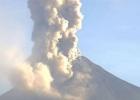 Doble erupción del volcán Colima de México