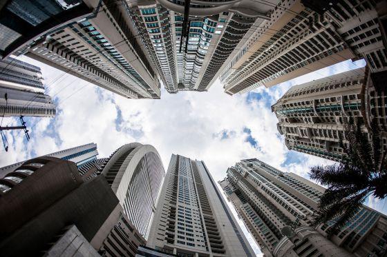 Edificios en Punta Pacifica, Ciudad de Panamá.
