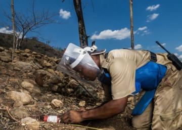 Mozambique está limpia de minas antipersonas