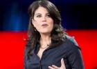 Monica Lewinsky, durante una conferencia TED2015 en Vancouver.