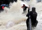 El paso del tifón Dujuan