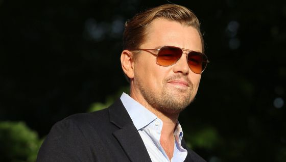 Leonardo DiCaprio en el festival Global Citizen en Nueva York.