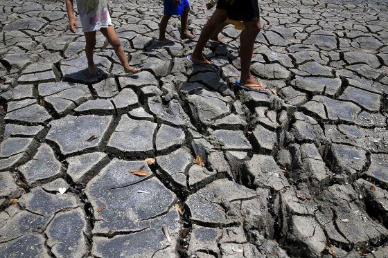 Sequía extrema en la provincia de Cavite, en Filipinas