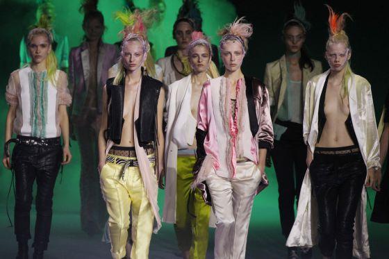 Modelos de Haider Ackermann