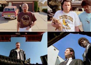 Las escenas de Breaking Bad copiadas de Pulp Fiction