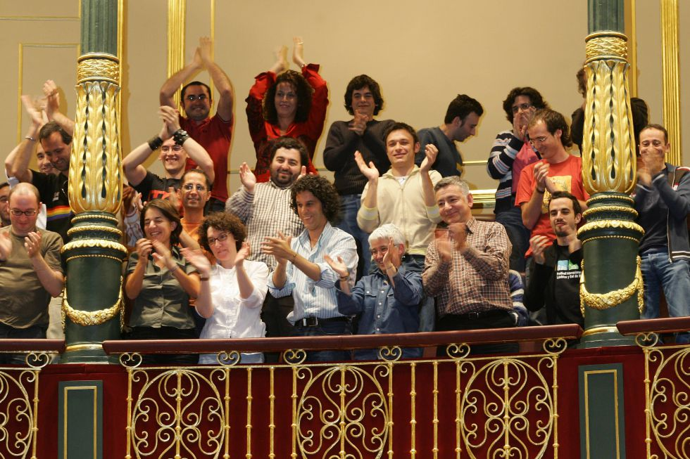 Fotos 40 a os del 20n batallas ciudadanas para - Casarse ayuntamiento madrid ...