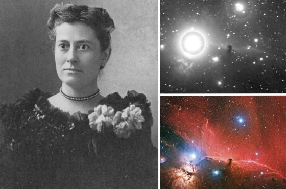 Williamina Fleming y la nebulosa Cabeza de Caballo