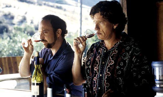 Paul Giamatti y Thomas Haden Church nos enseñan en 'Entre copas' (2004) lo que hay que hacer antes de beber.