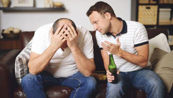 Por qué mis amigos acaban llorando cuando beben
