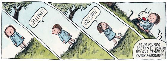 jorge pequeno pais comic: