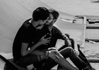 Besos homosexuales en Túnez