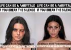 Kardashian y Jenner no dieron su permiso al artista que las 'golpeó'