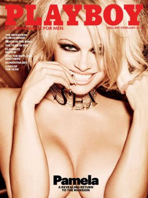 La última portada de 'Playboy' con un desnudo, protagonizado por Pamela Anderson.