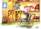 El trazo que une la discapacidad y el humor