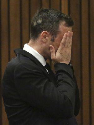 Pistorius tras conocer la decisión del juez.