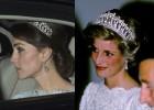 La duquesa de Cambridge luce las joyas de Diana de Gales