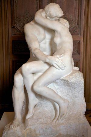 'El beso', de Rodin.