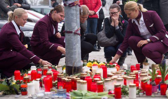 Un homenaje a las víctimas.