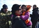 Susan Sarandon ayuda a los refugiados en Grecia
