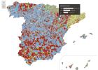 El mapa del voto en el 20D