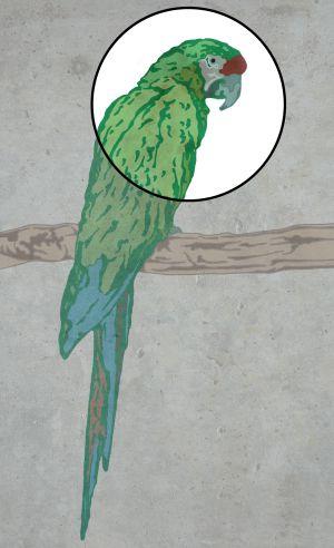 El papagayo verde