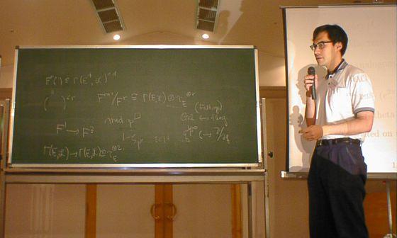 El matemático japonés Shinichi Mochizuki.