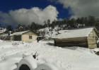 El norte de México bajo nieve