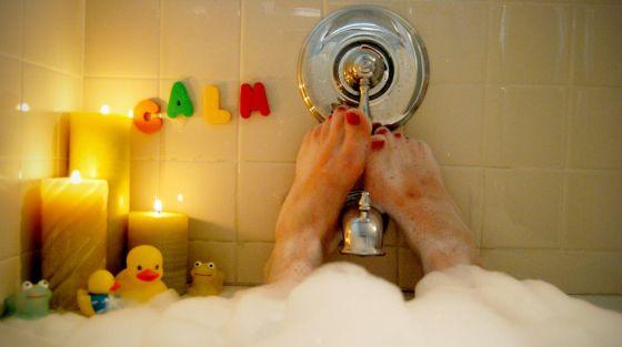 Un baño caliente y otras cosas que parecen relajantes y pueden acabar mal