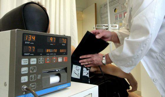 Una unidad de hipertensión en Barcelona.