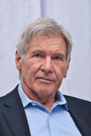 Harrison Ford, durante una rueda de prensa sobre la nueva película de 'Star Wars', a principios de diciembre en Los Ángeles.