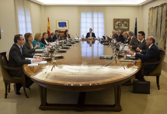 Última reunión del año del Gobierno presidido por Rajoy, el 29 de diciembre.