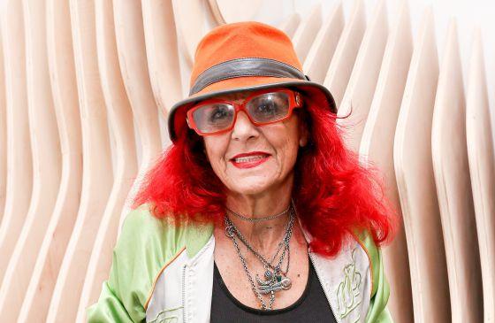 Patricia Field, diseñadora y directora de vestuario, en Nueva York el pasado septiembre.