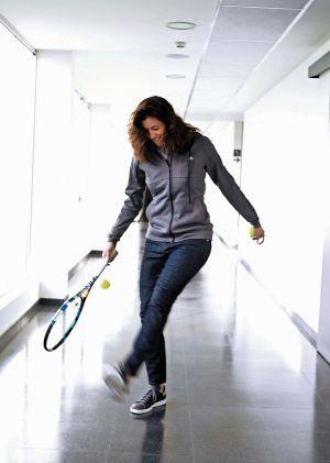 La tenista vive entre 10 y 11 meses al año nómada por el planeta.
