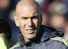 Primer entrenamiento de Zidane como técnico del Real Madrid