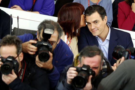Pedro Sánchez, durante la reunión del Comité Federal del PSOE del pasado 28 de diciembre.