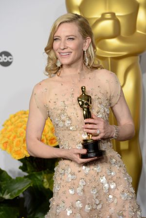 Cate Blanchett obtuvo el Oscar en 2014 por su actuación en 'Blue Jasmine'.