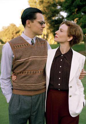Leonardo DiCaprio y Cate Blanchett, en la película 'El aviador'.