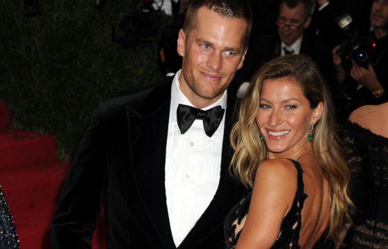 Tom Brady y Gisele Bündchen en la gala del Met de 2014.rn