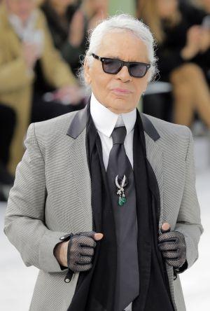 El Kaiser el pasado año tras la presentación de la colección primavera-verano 2015 de Chanel.