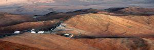 Centro que alberga los telescopios del VLT. Las temperaturas son extremas. El complejo, para 200 personas, está construido bajo tierra