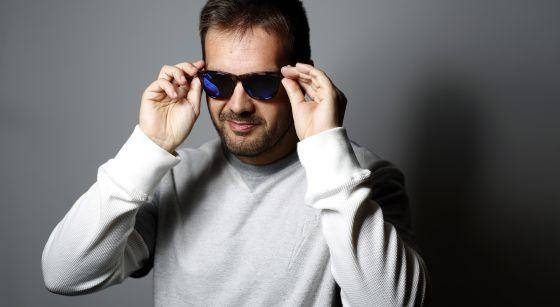David Moreno, cofundador de la marca de gafas Hawkers.