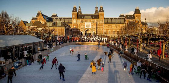 El Rijksmuseum de Ámsterdam.